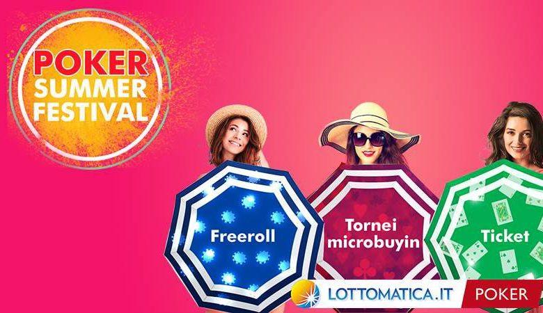 Poker Summer Festival di Lottomatica