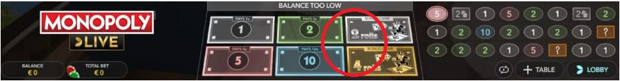 trucco per vincere a monopoly live