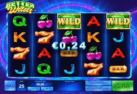 Slot Better Wilds