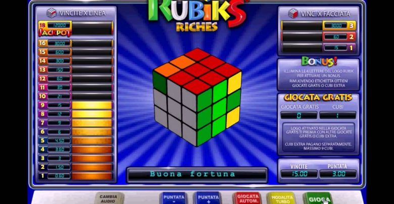 Slot Rubik's Riches