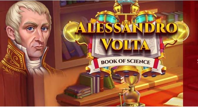 Slot Book of Science Volta: caratteristiche e recensione della slot Eurobet