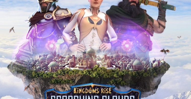 slot Kingdoms Rise: Scorching Clouds