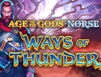 Age of the Gods Norse: slot Ways of Thunder