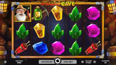Slot dynamite cave