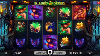 slot halloween treasure
