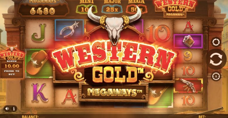 Slot Western gold megaways