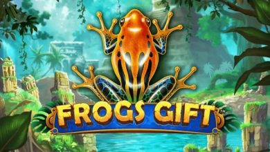 Slot frogs gift