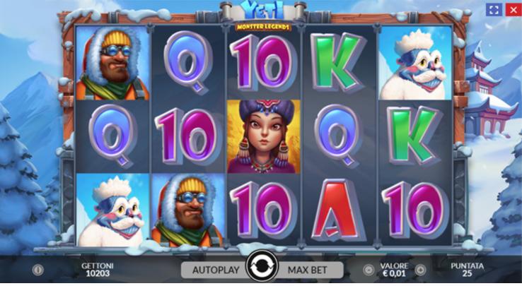 Slot Monster Legends Yeti