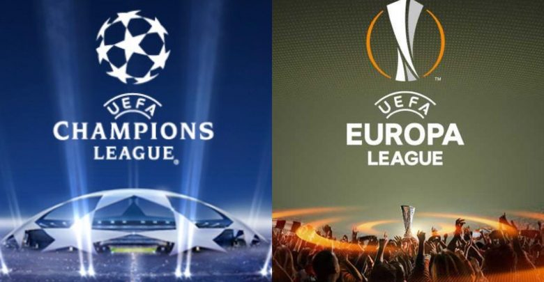 le italiane in champions ed europa league