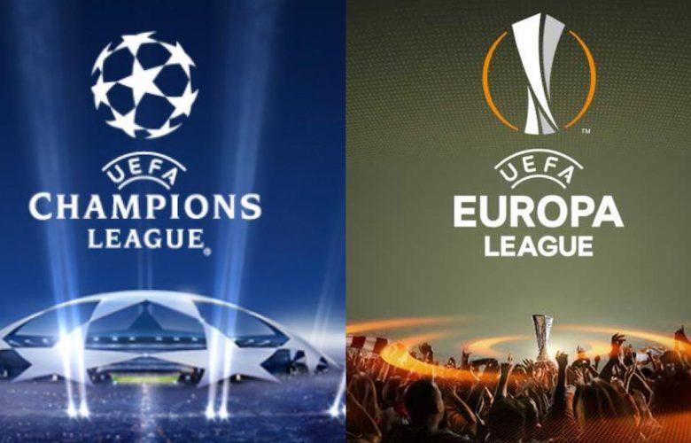 le italiane in champions ed europa league