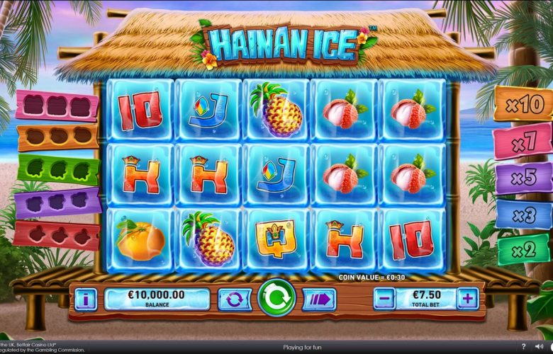 slot hainan ice